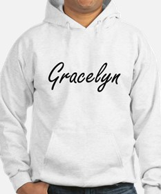 Gracelyn artistic Name Design Hoodie Sweatshirt