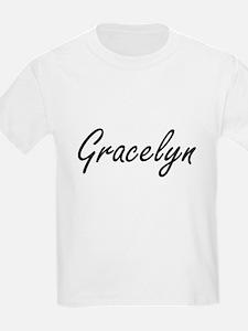 Gracelyn artistic Name Design T-Shirt