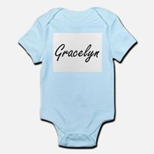 Gracelyn artistic Name Design Body Suit
