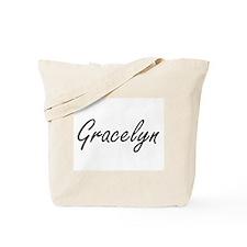 Gracelyn artistic Name Design Tote Bag