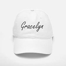 Gracelyn artistic Name Design Baseball Baseball Cap