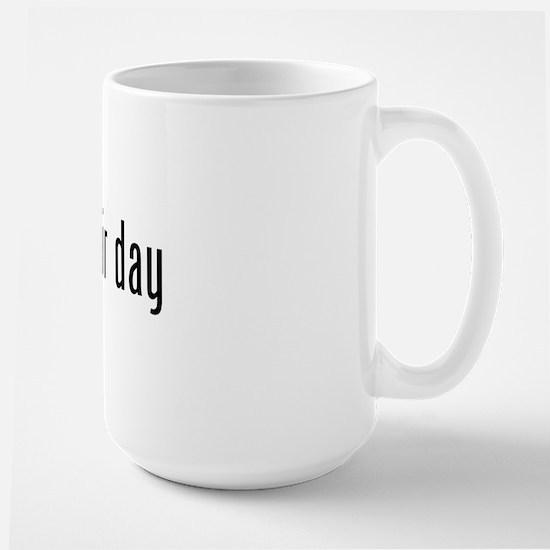 No Hair Day (pink Ribbon) Mugs