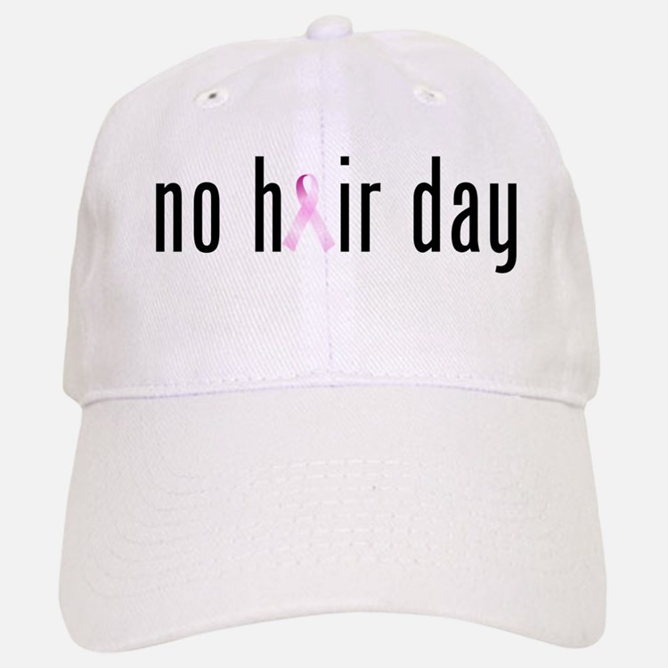 No Hair Day (pink Ribbon) Baseball Baseball Baseball Cap