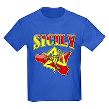 Sicily Sicilian Trinacria T