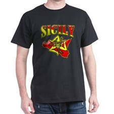 Sicily Sicilian Trinacria T-Shirt