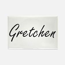 Gretchen artistic Name Design Magnets