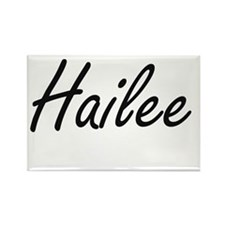 Hailee artistic Name Design Magnets