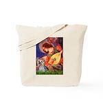 Mandolin Angel & Yorkie (T) Tote Bag