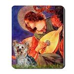 Mandolin Angel & Yorkie (T) Mousepad