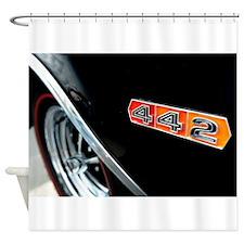 442 power Shower Curtain