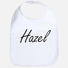 Hazel artistic Name Design Bib