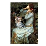 Ophelia's Yorkie (T) Postcards (Package of 8)