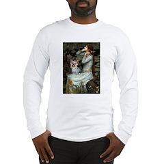 Ophelia's Yorkie (T) Long Sleeve T-Shirt