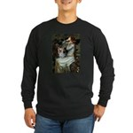 Ophelia's Yorkie (T) Long Sleeve Dark T-Shirt