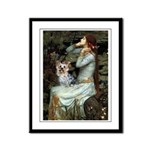 Ophelia's Yorkie (T) Framed Panel Print