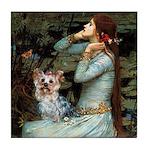 Ophelia's Yorkie (T) Tile Coaster