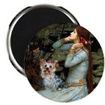 Ophelia's Yorkie (T) Magnet