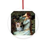 Ophelia's Yorkie (T) Ornament (Round)