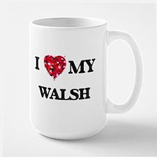 I Love MY Walsh Mugs