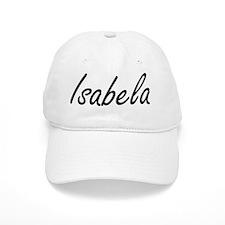 Isabela artistic Name Design Baseball Cap