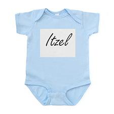 Itzel artistic Name Design Body Suit