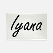 Iyana artistic Name Design Magnets