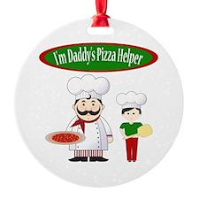 Daddys Helper Son Ornament