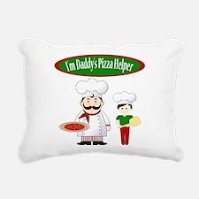 Daddys Helper Son Rectangular Canvas Pillow