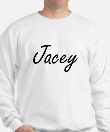 Jacey artistic Name Design Sweater