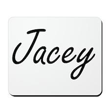Jacey artistic Name Design Mousepad