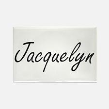 Jacquelyn artistic Name Design Magnets