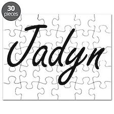 Jadyn artistic Name Design Puzzle