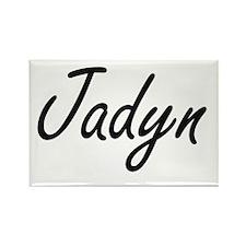Jadyn artistic Name Design Magnets