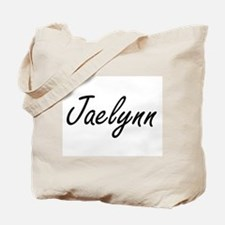 Jaelynn artistic Name Design Tote Bag