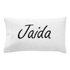 Jaida artistic Name Design Pillow Case