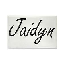 Jaidyn artistic Name Design Magnets