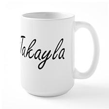 Jakayla artistic Name Design Mugs