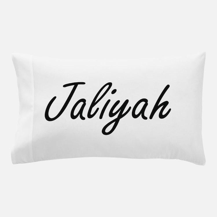 Jaliyah artistic Name Design Pillow Case