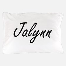 Jalynn artistic Name Design Pillow Case