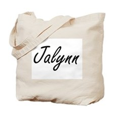 Jalynn artistic Name Design Tote Bag