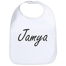 Jamya artistic Name Design Bib