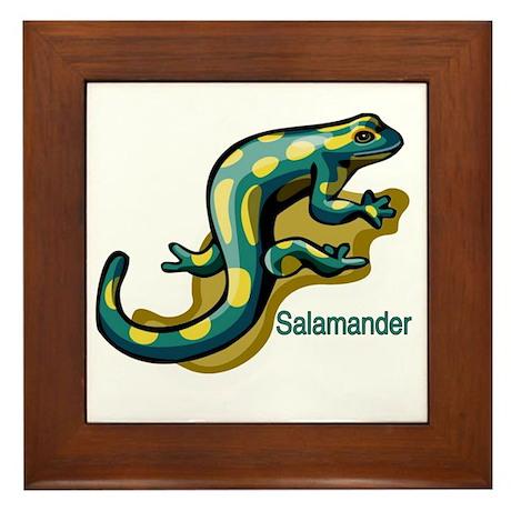 Salamander Framed Tile