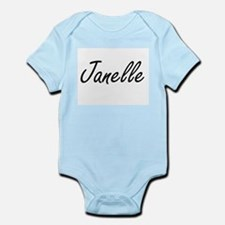 Janelle artistic Name Design Body Suit