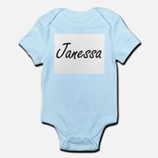 Janessa artistic Name Design Body Suit