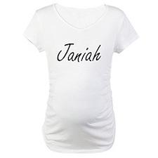 Janiah artistic Name Design Shirt