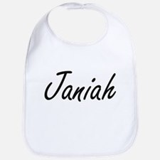 Janiah artistic Name Design Bib