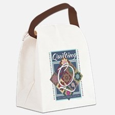 Cute Quilter mom Canvas Lunch Bag