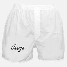 Janiya artistic Name Design Boxer Shorts