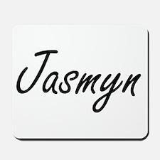 Jasmyn artistic Name Design Mousepad