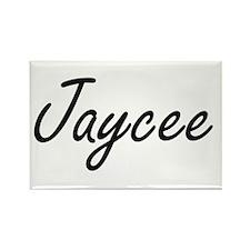 Jaycee artistic Name Design Magnets